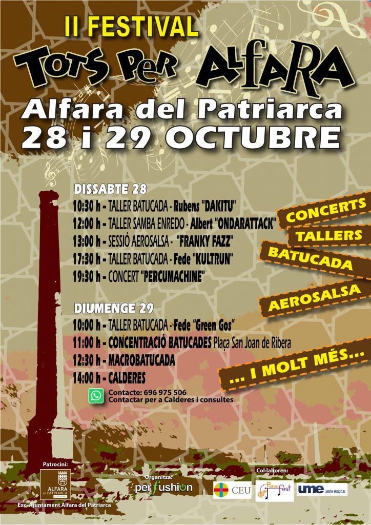 00 Cartel FINAL Festival Alfara 2017